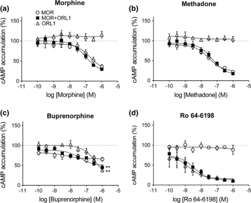 Fig3 Differential Pharmacological Actions Of Methadone And