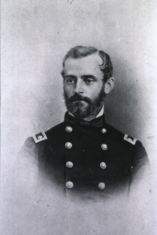 <p>Head and shoulders, left pose, wearing uniform.</p>