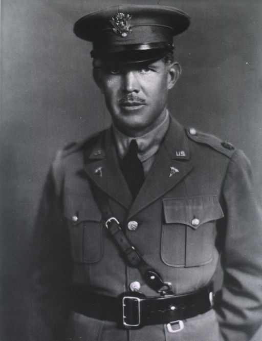 <p>Half-length, standing, full face, wearing uniform and cap (Lieut. Colonel).</p>