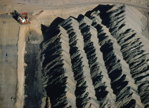 aerial view of navajo mine bought by the navajo nation open i