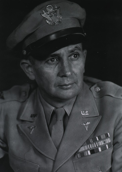 <p>Half-length, face front, wearing uniform and cap (Colonel).</p>