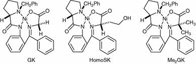 Non-, mono- and di-substituted complexes derived from 2-aminobenzophenone