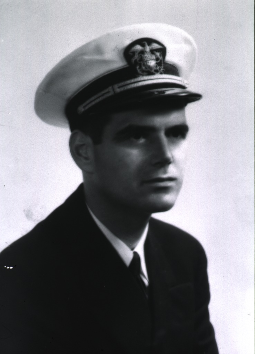 <p>Bust, full face, USPHS uniform and cap.</p>