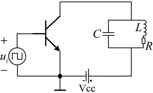 The topology structure of class C amplifier.