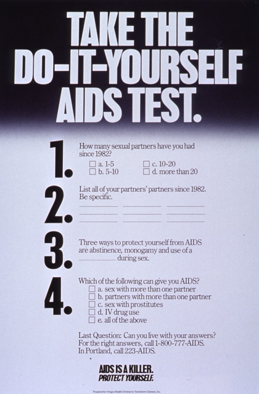 Take the do it yourself aids test open i four questions solutioingenieria Gallery