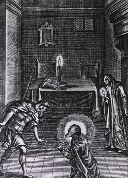<p>Illustration of apparitions.</p>
