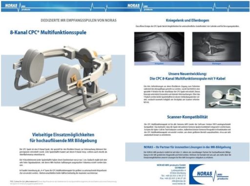 8-Canal multifunctional coil (NORAS MRI products, GmbH, Germany)