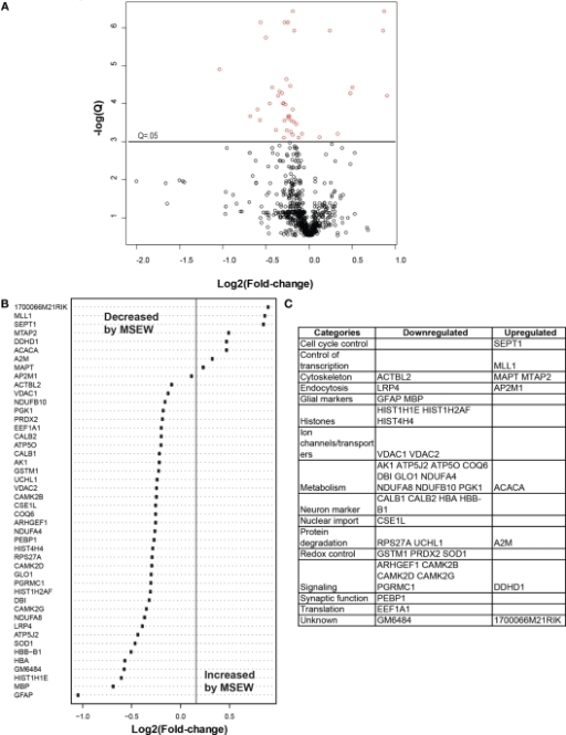 Label free proteomics analysis a volcano plot showin open i a volcano plot showing negative natural log of ccuart Images
