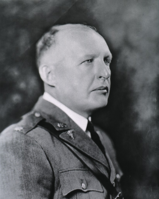 <p>Head and shoulders, right profile.  In uniform of Colonel, M.C.; at age 59.</p>