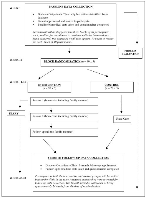 Flow Chart of RCT.