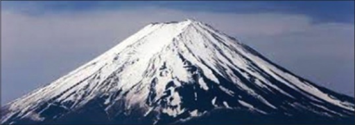 Fuji Volcano in Japan (available from internet)