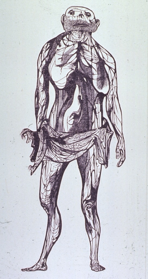 <p>Full length figure of a man.</p>