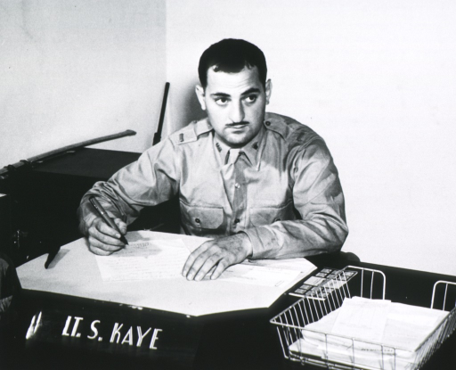 <p>Half-length, seated at desk, full face; wearing uniform, holding pen.</p>