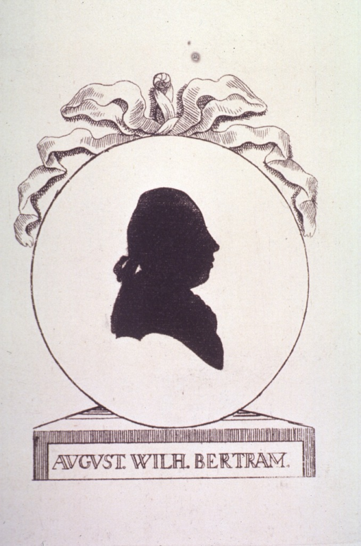 <p>Right profile (silhouette).</p>