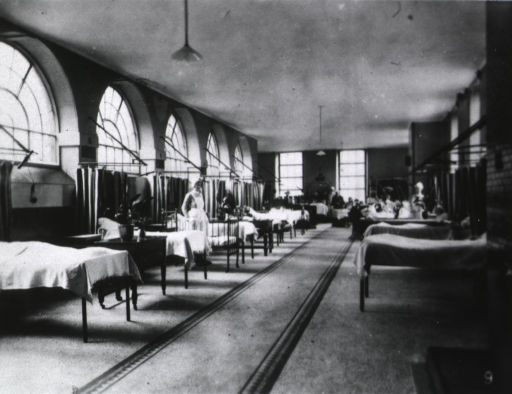 <p>One of the Wards.  Interior.</p>