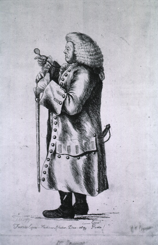 <p>Standing, left pose, holding cane and glasses.</p>