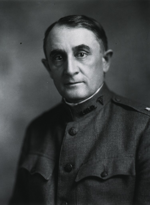 <p>Head and shoulders, full face; in uniform of Colonel, M.C.</p>