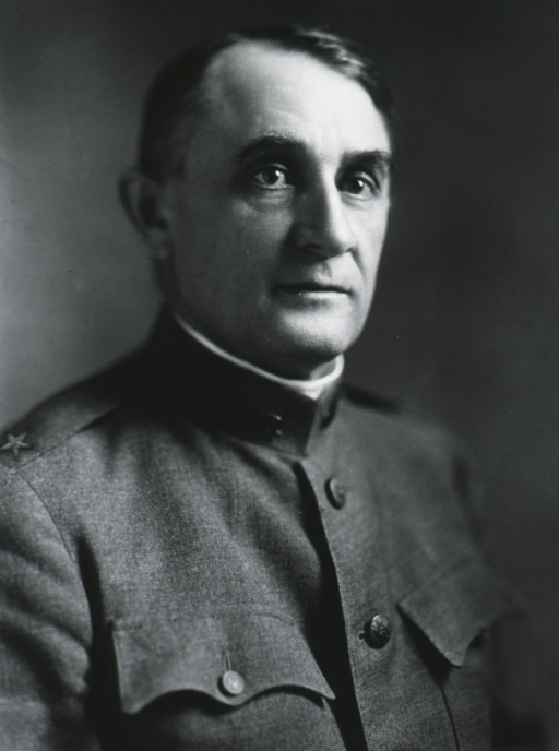 <p>Head and shoulders, right pose; in uniform, Gen. M.C.</p>