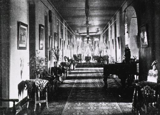 <p>A typical ward in the St. Hospital for the Insane, Norristown, Pa.</p>