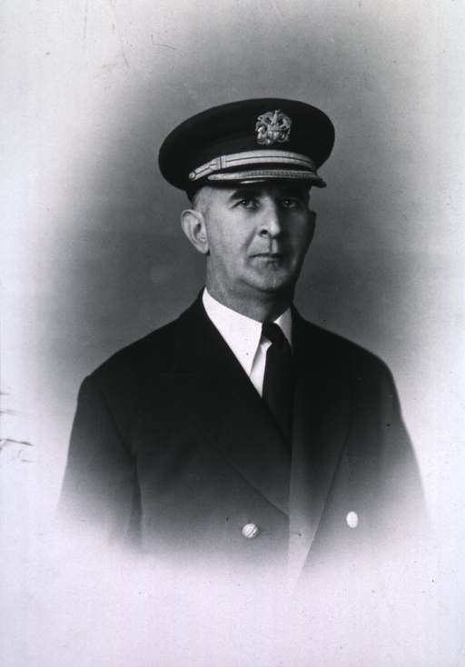 <p>Half-length, full face, body to right, wearing USPHS uniform and cap.</p>