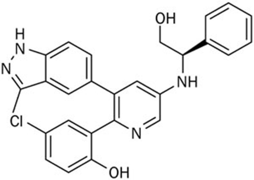 Chemical structures of DCLAK11.