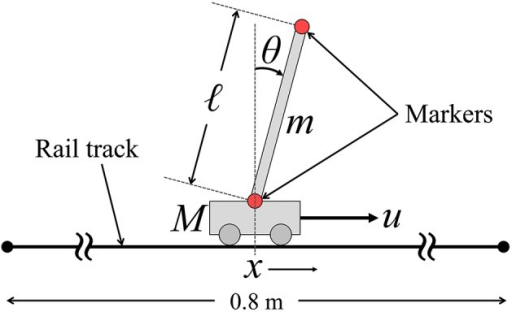 The cart-inverted-pendulum (CIP) system.