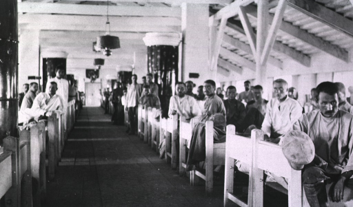 <p>Patients in a ward at Military Hospital No. 15.</p>