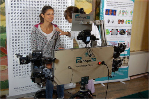 Face Shape Maxi 5 of Polishape 3D (a spin-off company of Politecnico di Bari).
