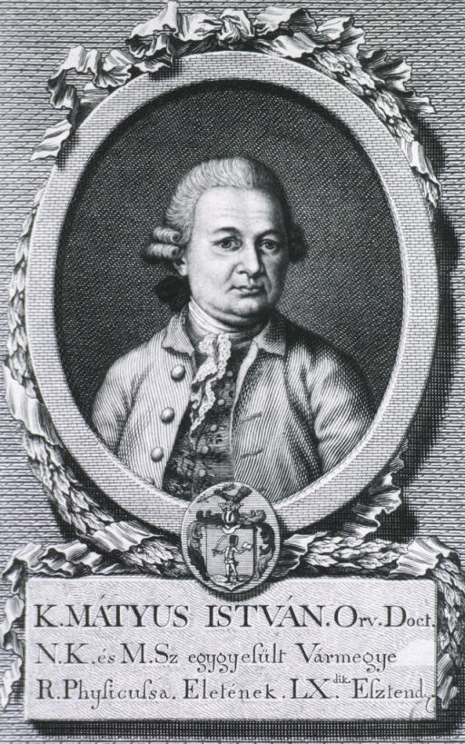 <p>Head and shoulders, left pose, full face; in oval on pedestal, with coat-of-arms.</p>