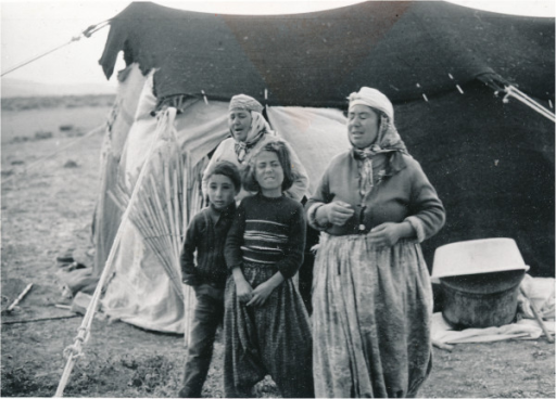 Karahacılı Yörüks in the summer camp outside Niğde (Photo Ingvar Svanberg).