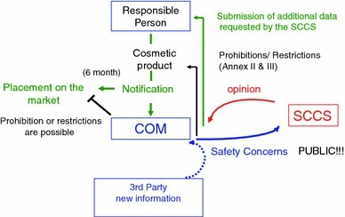 Notification process for cosmetics that contain NM according to the new EU Cosmetic Regulation 1223/2009