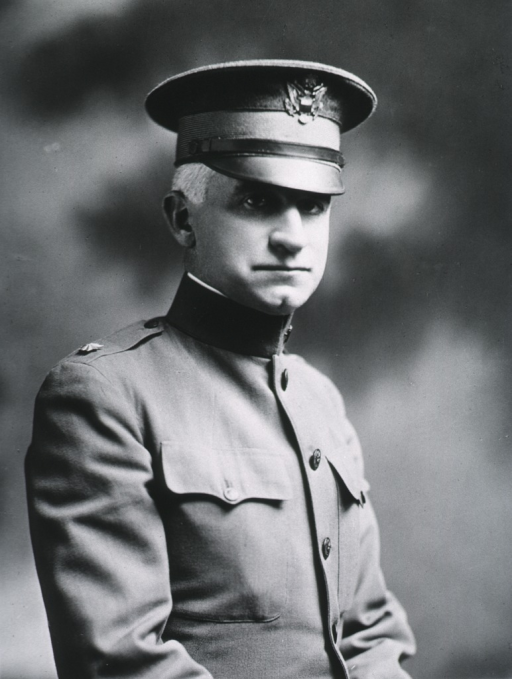 <p>Half length; right pose, in uniform of Lt.-Col.</p>