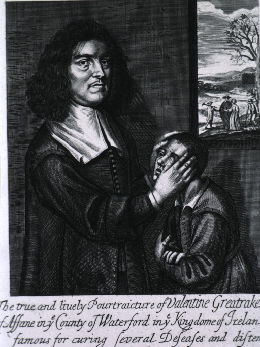 <p>Half-length, right profile, with hands on face of child at right; window in background.</p>