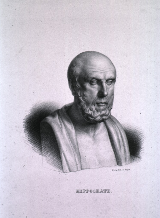<p>Marble bust, right pose, head slightly forward.</p>