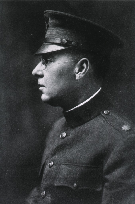<p>Head and shoulders, left profile; in uniform of Lt.-Col.</p>