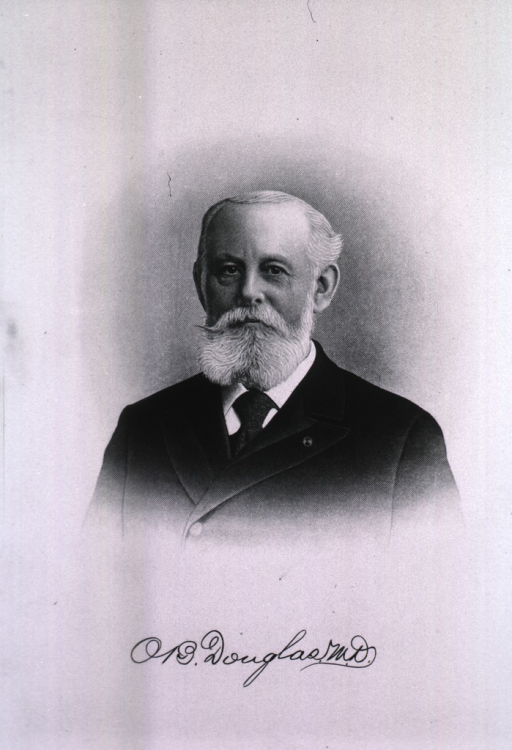 <p>Head and shoulders, front pose, as an old man.</p>