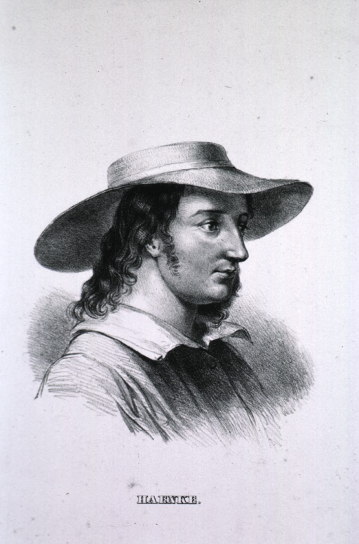<p>Head and shoulders, right pose, wearing hat.</p>