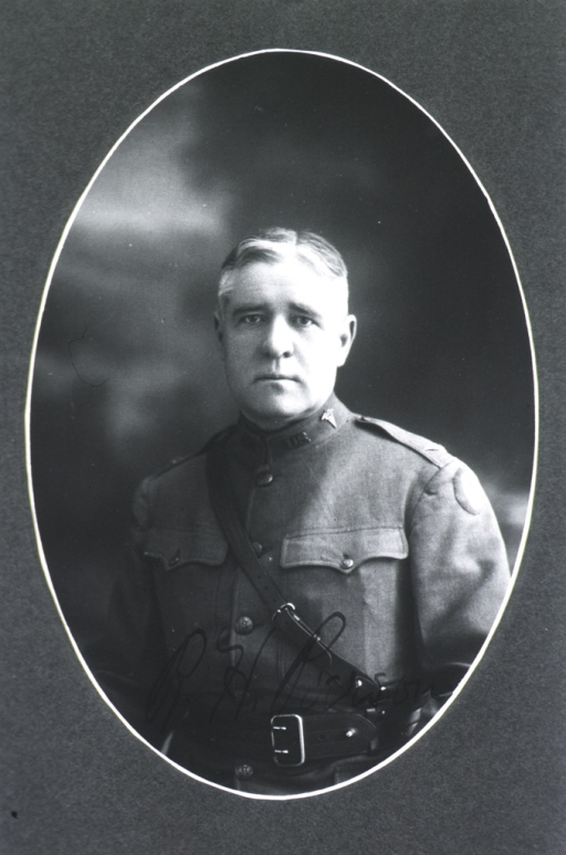<p>Head and shoulders, front pose, in uniform.</p>