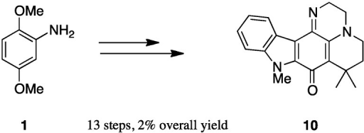 Synthesis of pentacycle 10.