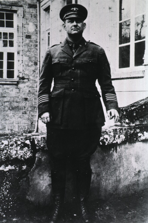 <p>Standing, full length, full face, wearing uniform and cap (Lieut. Colonel).</p>