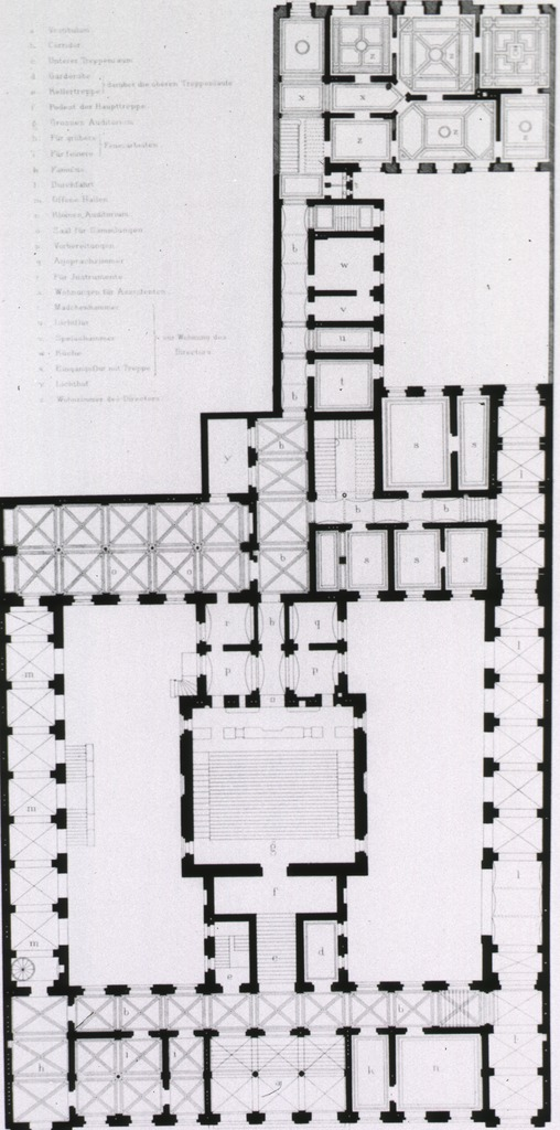 <p>Floor plan with legend.</p>