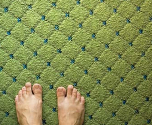 CarpetLow-pile and natural-fiber carpeting traps fewer allergens. Installing carpet with tacks instead of glue also reduces indoor air concentrations of VOCs.