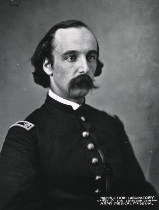 <p>Head and shoulders, right pose.  In uniform.</p>