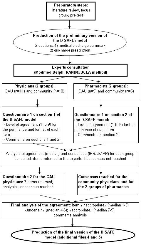 Steps In The Development Of The Discharge Summary Model Adapted For The  Frail Elderly Patient.