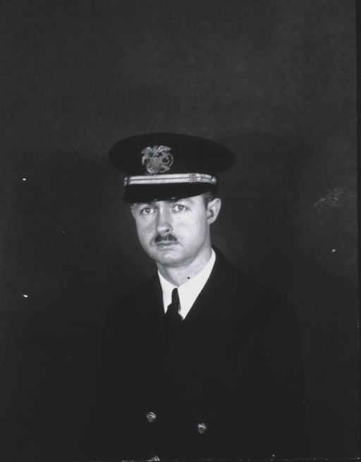 <p>Bust, full face, wearing cap with insignia of USPHS.</p>