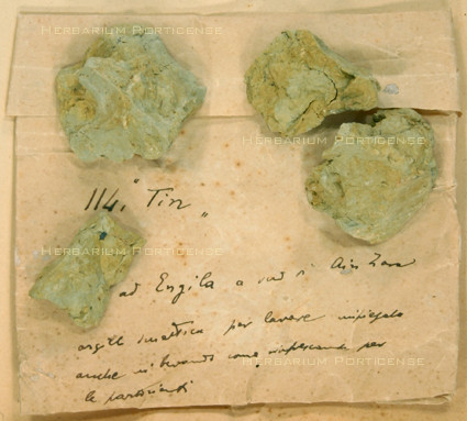 Clay (PORUN - TTD77), Tripolitania Trotter collection Drug section.