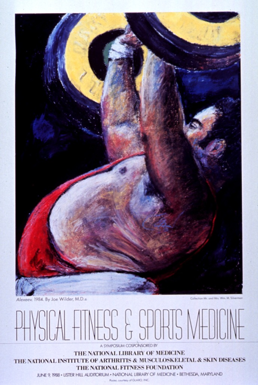 <p>Poster announces a symposium, June 1988.  Visual:  Joe Wilder's painting Alexeev.</p>