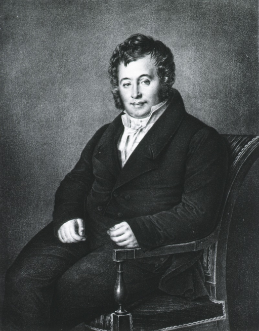 <p>Seated, one arm resting on chair; left pose, face front.</p>