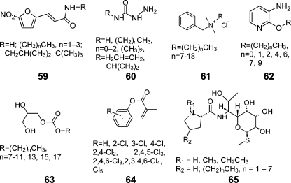 Compounds Used in the Distribution or Bioactivity Studies
