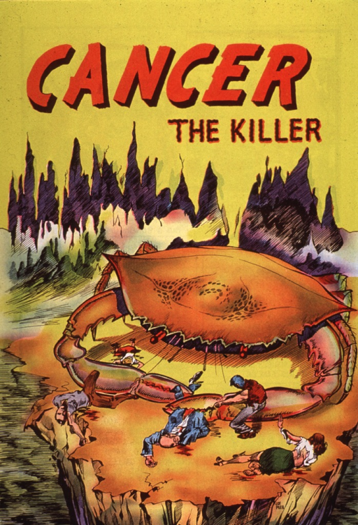 <p>A comic book on the history of the disease and warning signs of cancer.</p>